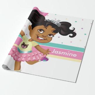 Papier Cadeau Afro-américain, papier d'emballage fait sur