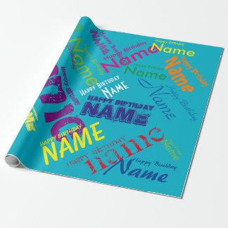 """Papier Cadeau Ajoutez le papier d'emballage nommé 30"""" de joyeux"""
