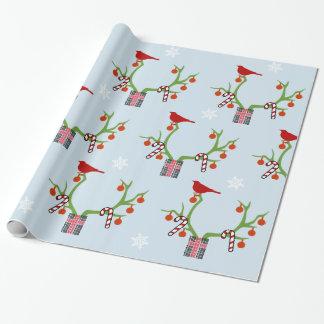 Papier Cadeau Ajoutez votre Noël d'andouillers de renne