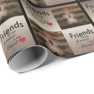 Papier Cadeau Amour spécial de Noël d'amis