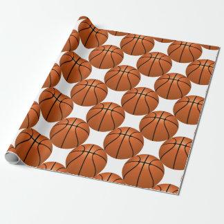 Papier Cadeau Amusement de basket-ball