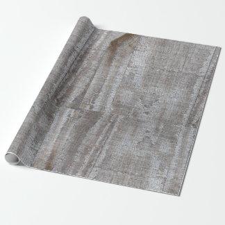 Papier Cadeau Amusement, rustique, gris, Barnwood,