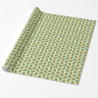 Papier Cadeau Ananas