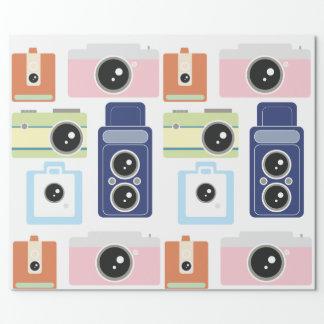 Papier Cadeau appareils-photo
