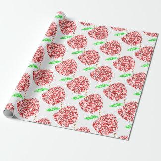 Papier Cadeau apple2