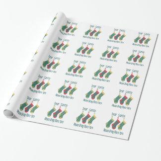Papier Cadeau Apportez plus de fil