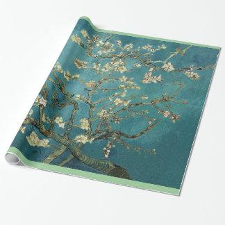 Papier Cadeau Arbre d'amande de floraison, Vincent van Gogh