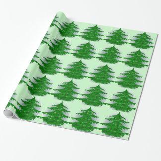 Papier Cadeau Arbre de Noël de Camo