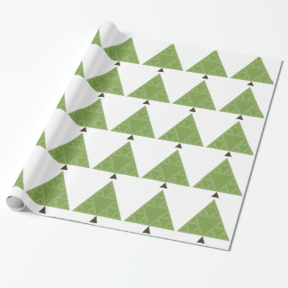 Papier Cadeau Arbre de triangle de Sierpinski
