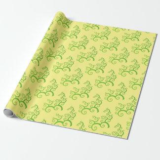 Papier Cadeau arbre des courbes