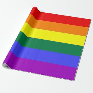 Papier Cadeau Arc-en-ciel de gay pride