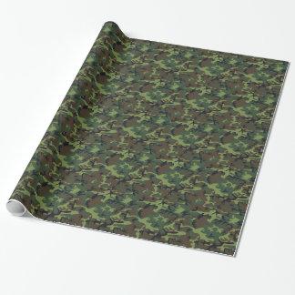 Papier Cadeau Armée Camo