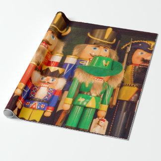 Papier Cadeau Armée des casse-noix de Noël