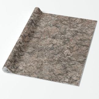 Papier Cadeau Arrière - plan sec criqué de texture de