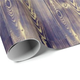 Papier Cadeau Art de fibre de bois