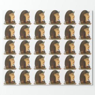 Papier Cadeau Art populaire d'Egyptien de pharaon