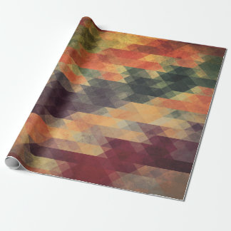 Papier Cadeau Audacieuses géométriques couleurs portées rétros