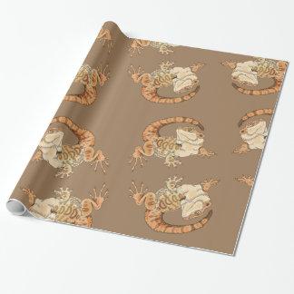 Papier Cadeau Beardie Bestie