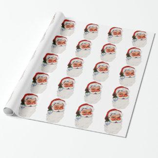 Papier Cadeau Bébé de Père Noël !