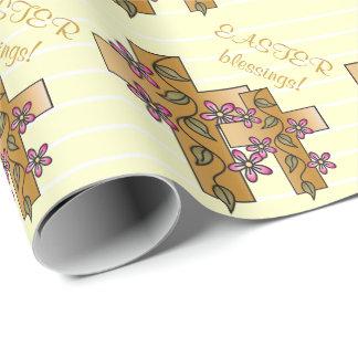 Papier Cadeau Bénédiction de Pâques