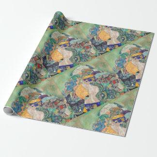 Papier Cadeau Berceau de bébé de Gustav Klimt