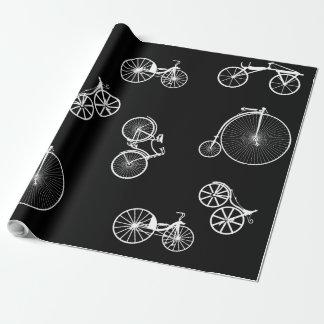 Papier Cadeau Bicyclette historique