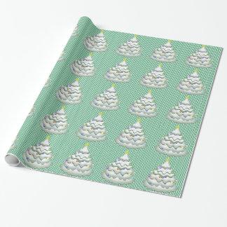 Papier Cadeau Biscuit d'arbre de Noël