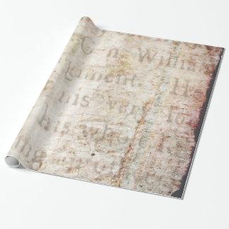 Papier Cadeau Blanc vintage de modèle d'exposé introductif des