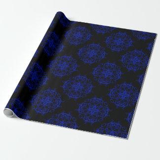 papier cadeau bleu