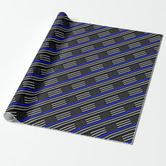 Papier Cadeau Blue Line mince