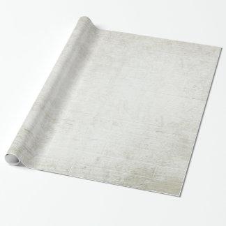 Papier Cadeau Bois lavé par blanc