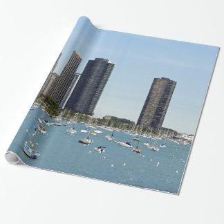 Papier Cadeau Bord de mer de Chicago
