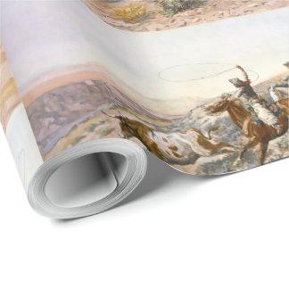 Papier Cadeau Buccaroos vintage Charles Marion Russell