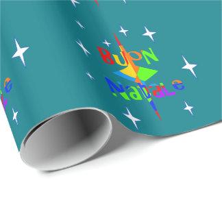 """Papier Cadeau Buon Natale - """"Joyeux Noël """""""