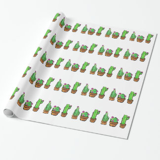 Papier Cadeau Cactus