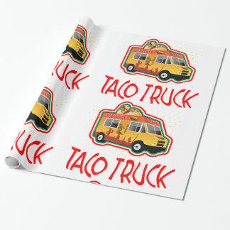 Papier Cadeau Camion de taco