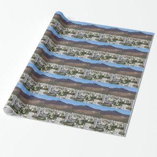 Papier Cadeau Capitale d'horizon de Port-Louis des Îles Maurice