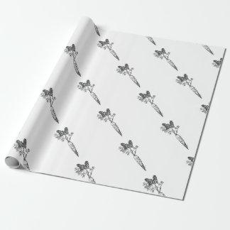 Papier Cadeau Carotte