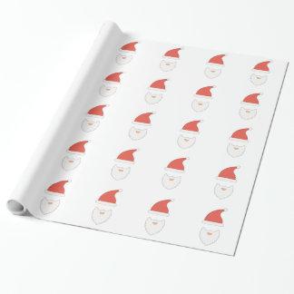 Papier Cadeau Casquette de Père Noël
