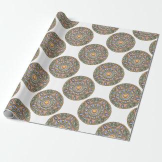 Papier Cadeau Cercles (en pastel)