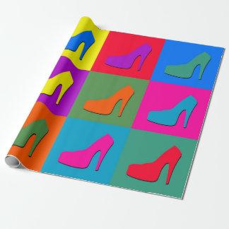 Papier Cadeau Chaussures d'art de bruit