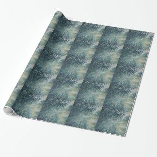 Papier Cadeau Claude Monet - matin sur l'oeuvre d'art de la