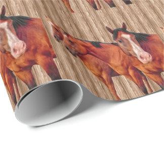 Papier Cadeau Club des filles de l'amant de cheval pour des