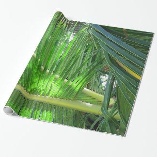 Papier Cadeau Cocotier hawaïen