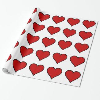 Papier Cadeau Coeur des coeurs