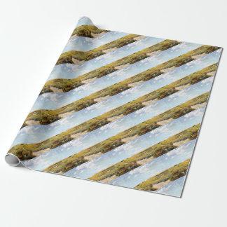 Papier Cadeau Collines ensoleillées de Shinnecock d'après-midi