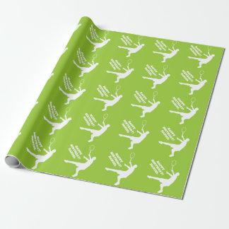 Papier Cadeau Conception de papier d'emballage de thème de
