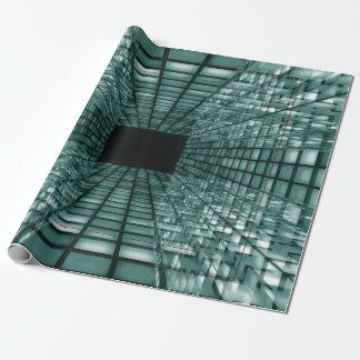 Papier Cadeau Conception unique du cube 3D