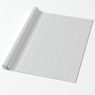 Papier Cadeau Contours noirs et blancs de motif de labyrinthe