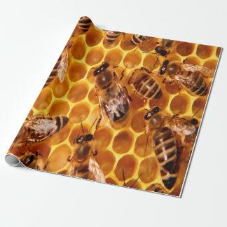 Papier Cadeau Copie d'abeille de miel